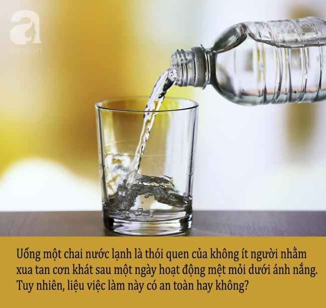Những thời điểm bạn tuyệt đối không nên uống nước lạnh kẻo hại thân - Ảnh 1.