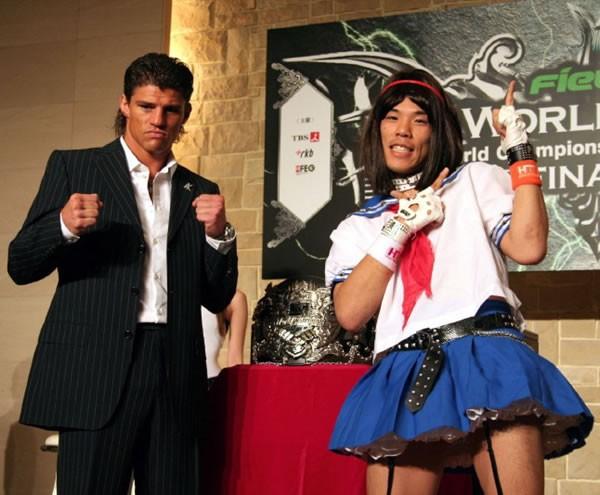 """Mặc kệ Flores thách đấu, Từ Hiểu Đông sắp tỉ thí """"võ sĩ giả gái"""" khét tiếng của Nhật Bản - Ảnh 2."""