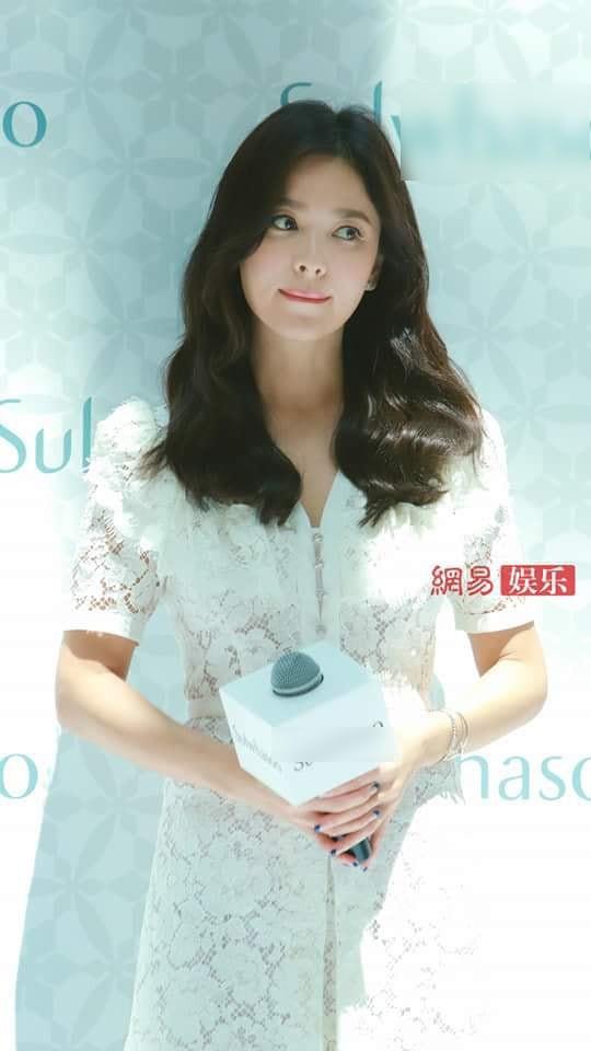 Sau lời xác nhận ly hôn, đây là câu nói đầu tiên của Song Hye Kyo khi đứng trước công chúng - Ảnh 3.