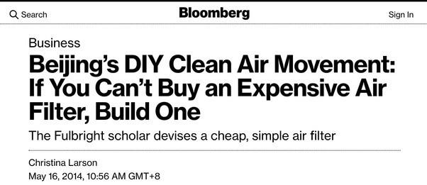 Với 30 USD, anh chàng này làm ra máy lọc không khí vượt mặt cả thiết bị nghìn đô, làm được cả startup nổi danh toàn cầu - Ảnh 13.