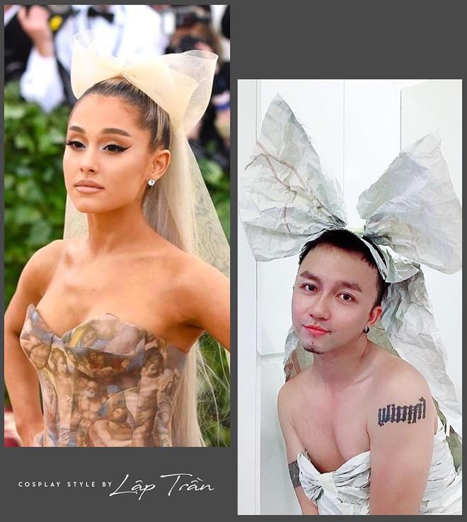 Xuất hiện thánh cosplay Việt: Đội vỏ bưởi liền hoá thành Taylor Swift, khoác cái chăn lại thấy giống Chi Pu - Ảnh 7.