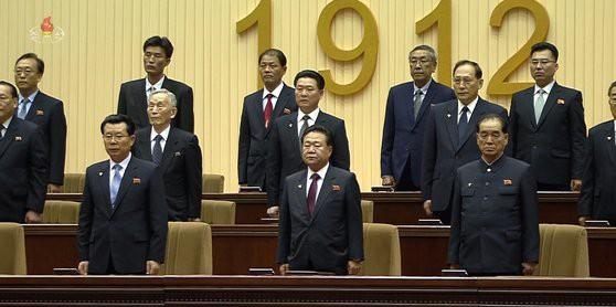 Ngồi ở vị trí đặc biệt, em gái Chủ tịch Kim Jong Un nằm trong nhóm 9 nhân vật quyền lực nhất Triều Tiên? - Ảnh 3.