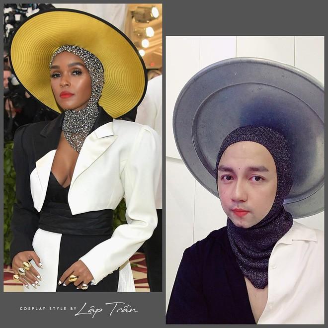 Xuất hiện thánh cosplay Việt: Đội vỏ bưởi liền hoá thành Taylor Swift, khoác cái chăn lại thấy giống Chi Pu - Ảnh 10.