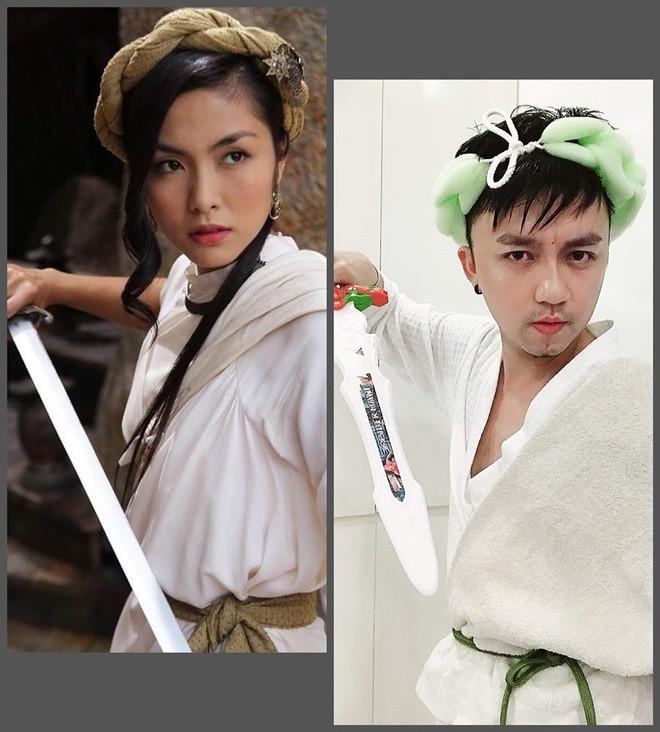 Xuất hiện thánh cosplay Việt: Đội vỏ bưởi liền hoá thành Taylor Swift, khoác cái chăn lại thấy giống Chi Pu - Ảnh 11.