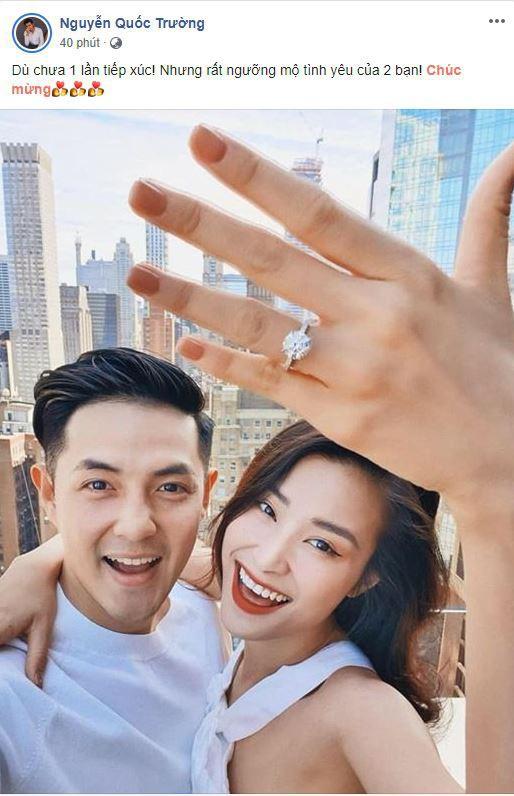 Chúc mừng Đông Nhi - Ông Cao Thắng, Quốc Trường cũng hài hước tiết lộ thời điểm kết hôn, fan gọi tên Midu - Ảnh 1.