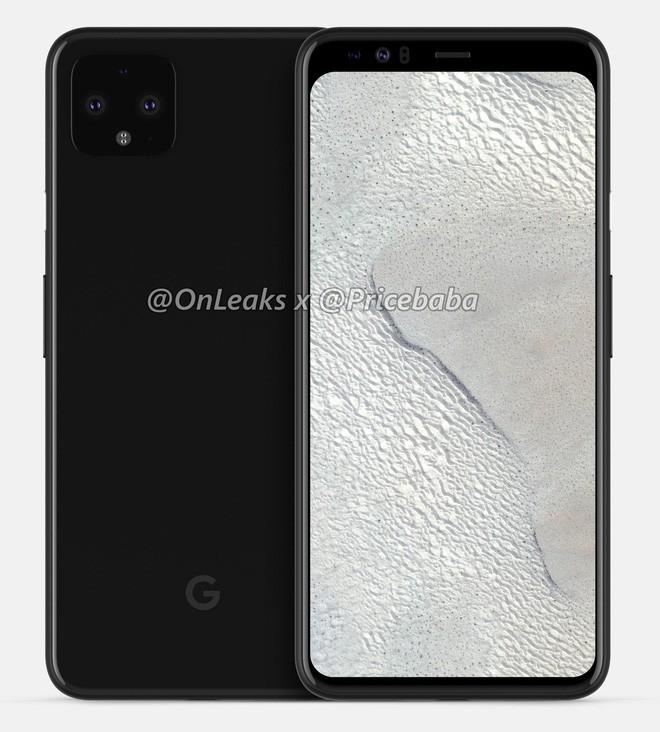 Đây là render vừa rò rỉ của Google Pixel 4 XL, không tai thỏ, không đục lỗ, tổng cộng 5 camera - Ảnh 1.