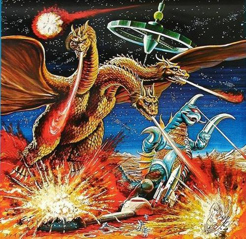 Siêu quái vật ngoài hành tinh Gigan: Đồng minh thân cận của King Ghidorah trong MonsterVerse - Ảnh 2.