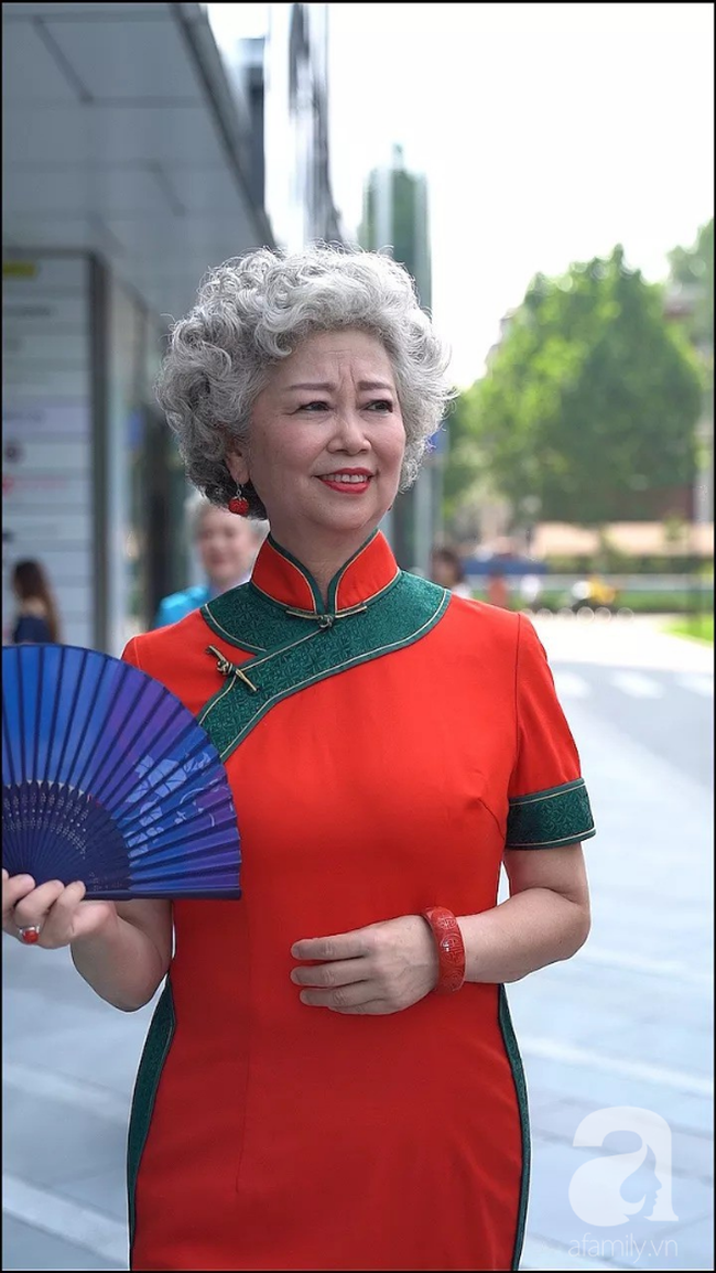 Chất như 4 bà ngoại Trung Quốc: Lúc trẻ làm to, về già theo đuổi nghiệp người mẫu để giữ khí chất sang chảnh của thiếu phu nhân - Ảnh 4.