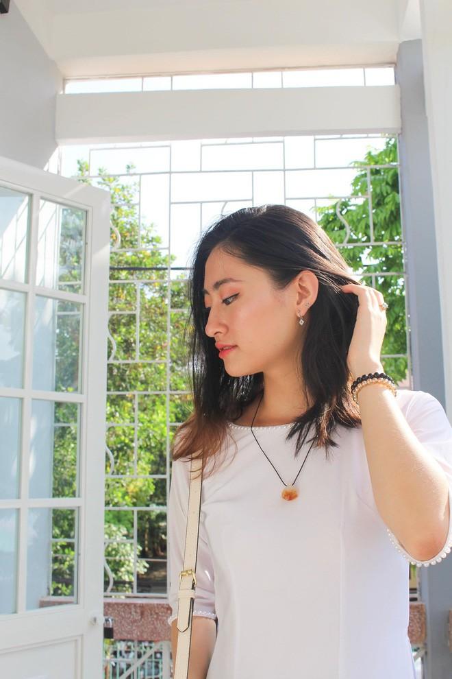 Nữ sinh Ngoại thương là ứng viên nặng ký của vương miện Hoa hậu thế giới Việt Nam 2019: IELTS 7.5, học sinh đội tuyển HSG Quốc gia Toán - Ảnh 6.