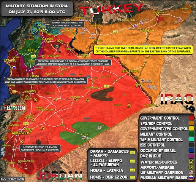 Phiến quân sụp đổ hàng loạt ở Bắc Hama- Đặc nhiệm Nga liên thủ cùng quân đội Syria lập công lớn - Ảnh 9.