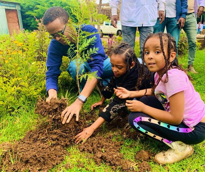 Kỷ lục đáng nể của Lục địa Đen: Trong 12 giờ, Ethiopia trồng được 350 triệu cây xanh - Ảnh 4.