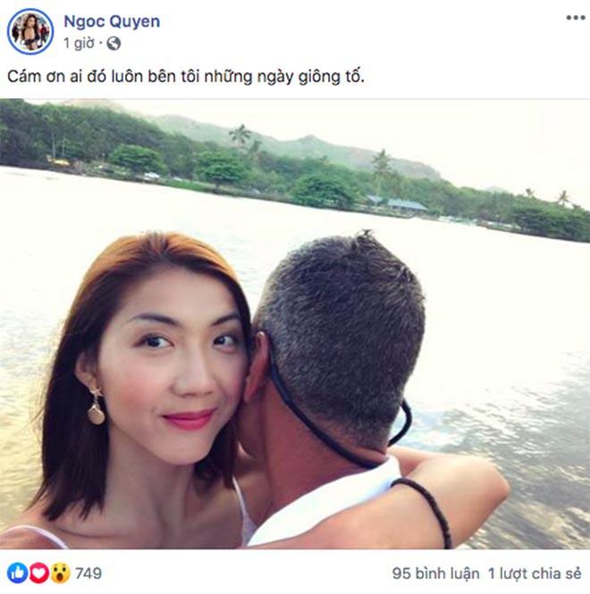 Siêu mẫu Ngọc Quyên hạnh phúc ôm người đàn ông mới sau gần 1 năm chia tay bác sĩ Việt kiều - Ảnh 1.