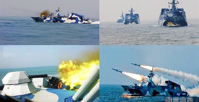[ẢNH] Trung Quốc gây bất ngờ khi sớm loại biên tàu tên lửa tàng hình Type 022 - Ảnh 2.