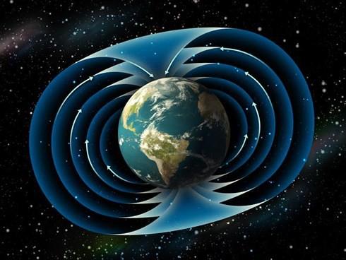 Trái đất từ từ đảo ngược cực từ trong một giai đoạn kéo dài suốt 22.000 năm - ảnh: SPACE