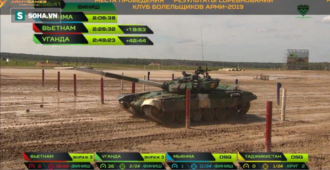 Bán kết Tank Biathlon 2019: Bất ngờ, Myanmar được công nhận kết quả, Việt Nam bị cộng thêm giờ - Ảnh 2.