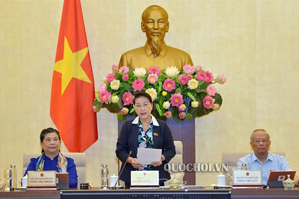 15 bộ trưởng, trưởng ngành trả lời chất vấn trước Thường vụ Quốc hội - Ảnh 1.