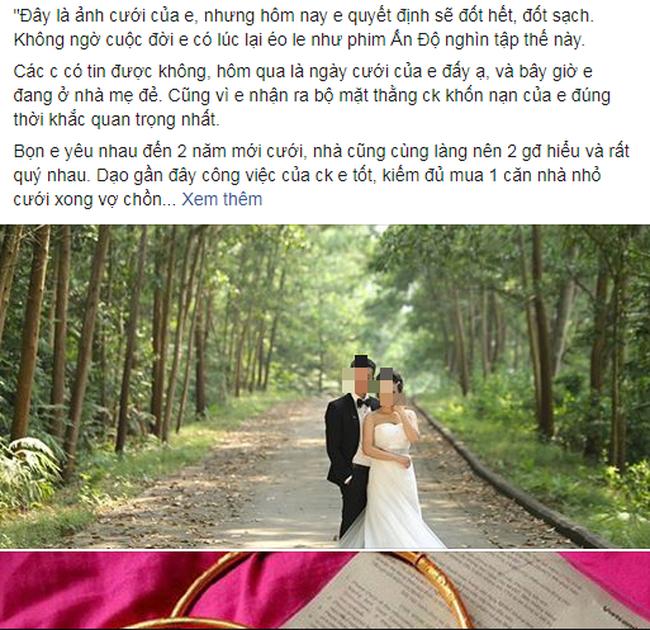 Chuyện thật như đùa: Đúng ngày cưới cô dâu ôm cả thùng tiền mừng cùng vàng và chú rể trả thẳng bố mẹ chồng - Ảnh 1.