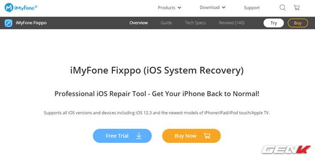 A đây rồi! Đã có thuốc cực đơn giản chữa bệnh treo táo, lỗi khởi động trên iPhone - Ảnh 1.