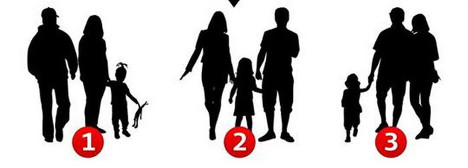 Hãy vận dụng óc quan sát tinh tường để xem số mấy không phải gia đình, đáp án rất thú vị! - Ảnh 1.