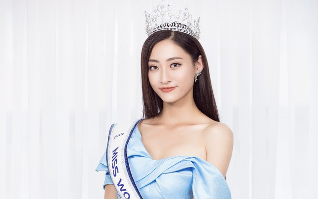 Hoa hậu Lương Thùy Linh: Tôi chưa được tiếp xúc với chị Đỗ Mỹ Linh nên không có chuyện chị xúi tôi đi thi - Ảnh 3.