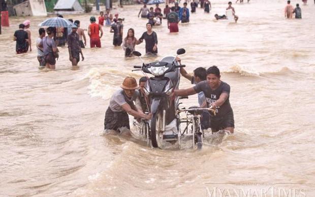 Lũ lụt tại Myanmar: 59 người thiệt mạng do lở đất - Ảnh 1.