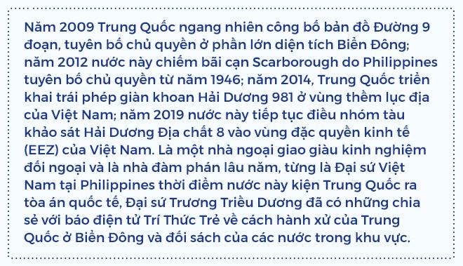 Đại sứ Trương Triều Dương: Từ Scarborough đến Tư Chính, nghĩ về bài học ứng xử với Trung Quốc ở Biển Đông - ảnh 1