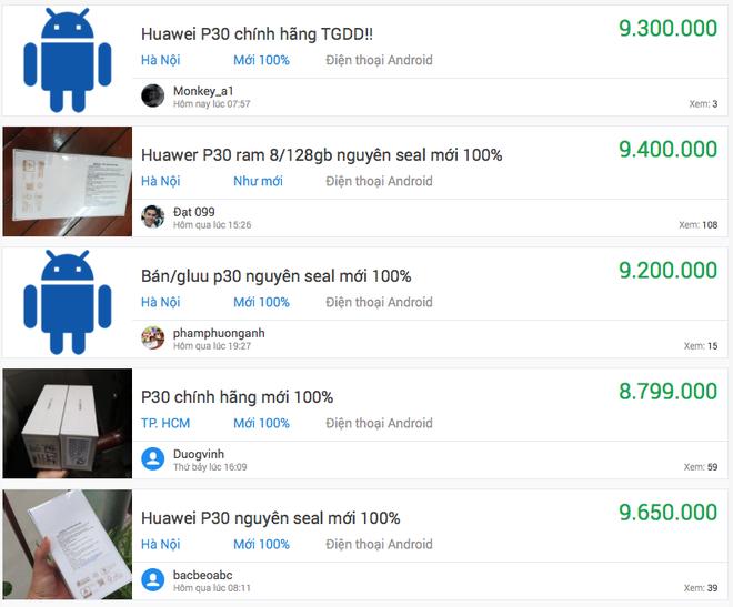 Siêu phẩm Huawei P30 mất giá còn một nửa chỉ sau 4 tháng ra mắt - Ảnh 1.