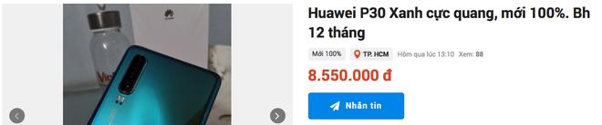 Siêu phẩm Huawei P30 mất giá còn một nửa chỉ sau 4 tháng ra mắt - Ảnh 2.