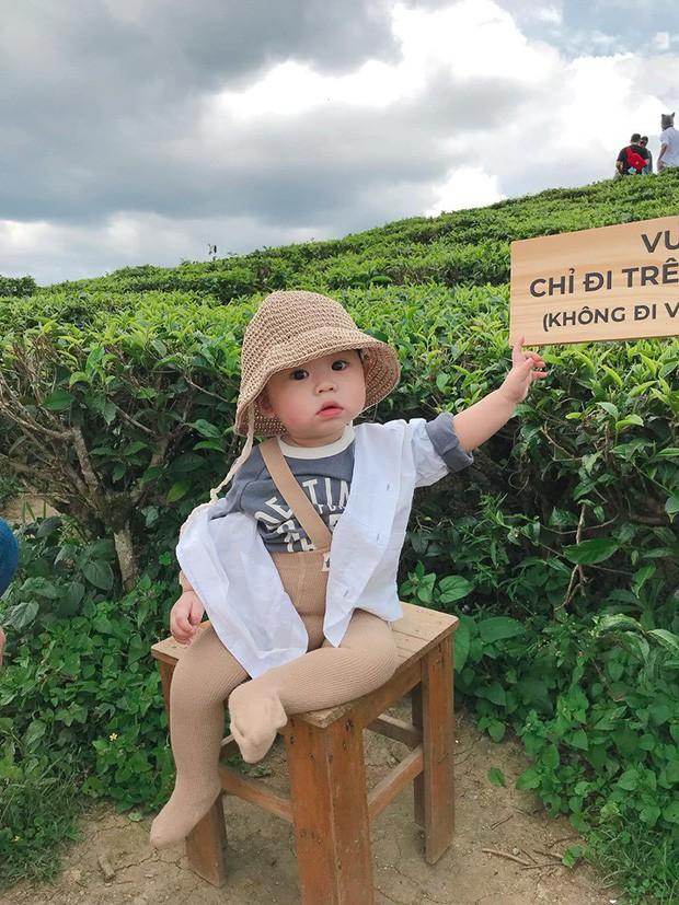 Check-in toàn những điểm 'hot' ở Đà Lạt nhưng biểu cảm ngơ ngác của em bé này mới gây thích thú - ảnh 1
