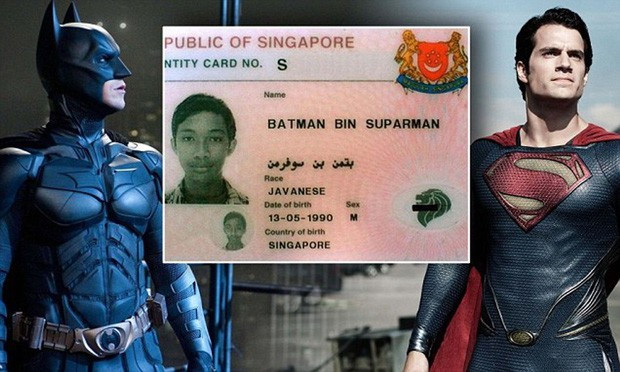 Giới chức từng bối rối khi bắt được kẻ trộm tên Batman Bin Suparman!