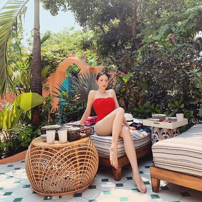 Người mẫu lộ bằng chứng hẹn hò em chồng đại gia của Hà Tăng: Gợi cảm, đầy sang chảnh - Ảnh 13.