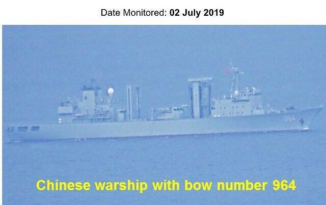 5 tàu chiến Trung Quốc bị tố đi qua vùng biển Philippines mà không báo trước - Ảnh 1.