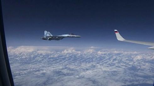 """NATO bất ngờ """"lật kèo"""" Nga vụ Su-27 đuổi F-18 trên biển Baltic - ảnh 1"""