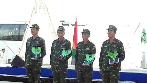 Việt Nam giành giải ba bài Bắn tỉa trong hành tiến - Ảnh 3.