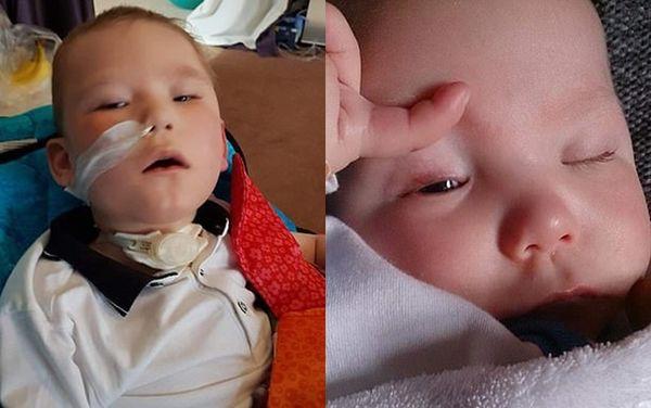 Trong suốt 2 tháng đầu đời, Ollie không thể mở mắt và ăn uống bình thường. Bố mẹ cậu đã phải chuyển viện liên tục để rồi đến cuối năm ấy, các bác sĩ mới xác định được những bất thường di truyền của cậu bé.