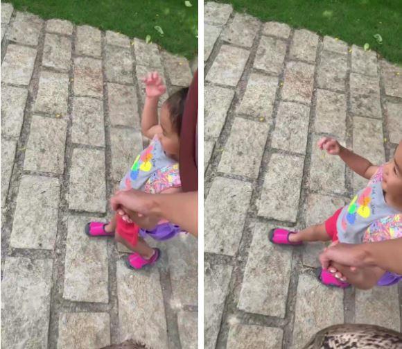 Tăng Thanh Hà dắt con gái đi học, vô tình làm lộ gương mặt cô bé vì sự cố bất ngờ - ảnh 2