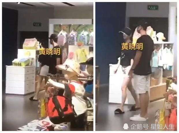 Rầm rộ loạt ảnh Angela Baby - Huỳnh Hiểu Minh mặc đồ đôi hẹn hò siêu tình cảm, hóa ra shopping mua đồ cho quý tử - Ảnh 2.