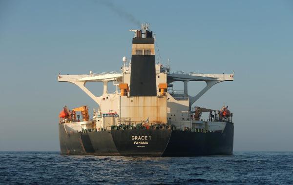 Vừa được trả tự do, tàu chở dầu Iran lập tức 'thay tên đổi họ', di chuyển tới Địa Trung Hải - Ảnh 1.