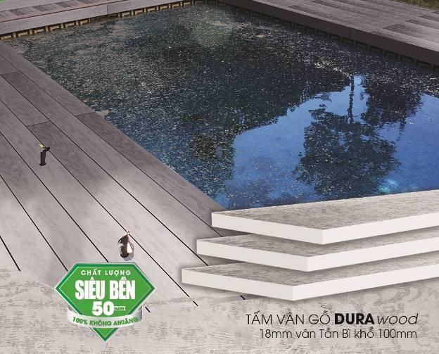 Tấm xi măng vân gỗ Durawood - Sắc thiên nhiên vững bền cho ngôi nhà bạn - Ảnh 3.