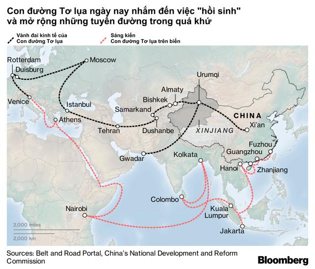 Trung Quốc toan tính điều gì khi tái khởi động Sáng kiến Vành đai Con đường? - Ảnh 1.