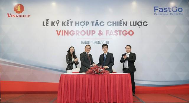 CEO FastGo tiết lộ về hợp tác với VinFast: Doanh nghiệp Việt phải bắt tay nhau đi đến đích - Ảnh 1.