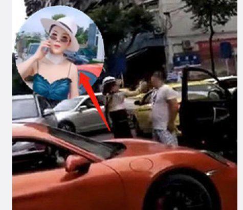 Đã sai còn tỏ thái độ hống hách, nữ tài xế xe Porsche bị người đàn ông tát nổ đom đóm mắt - Ảnh 3.