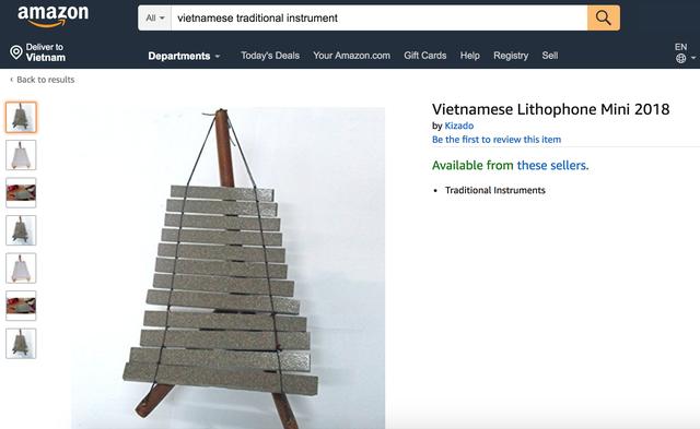 Hàng loạt sản phẩm truyền thống của Việt Nam được bán với giá cực cao trên Amazon, eBay - Ảnh 14.