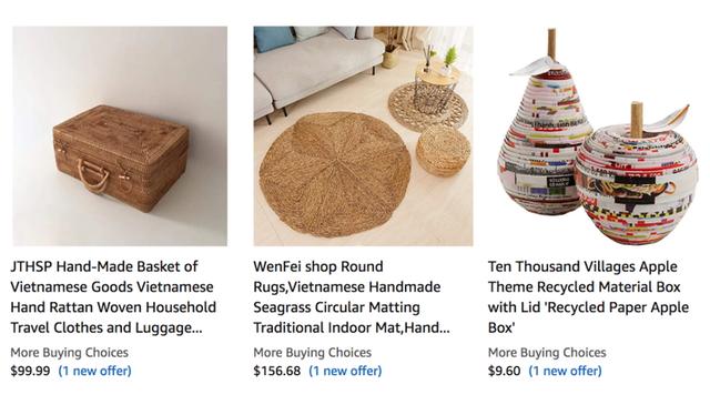 Hàng loạt sản phẩm truyền thống của Việt Nam được bá.n với giá cực cao trên Amazon, eBay - Ảnh 3.
