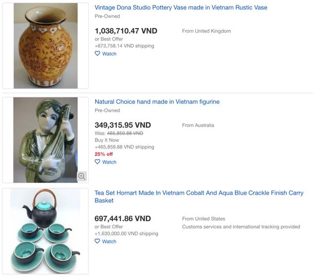 Hàng loạt sản phẩm truyền thống của Việt Nam được bá.n với giá cực cao trên Amazon, eBay - Ảnh 4.
