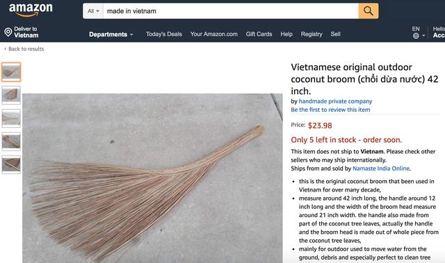 Hàng loạt sản phẩm truyền thống của Việt Nam được bá.n với giá cực cao trên Amazon, eBay - Ảnh 7.