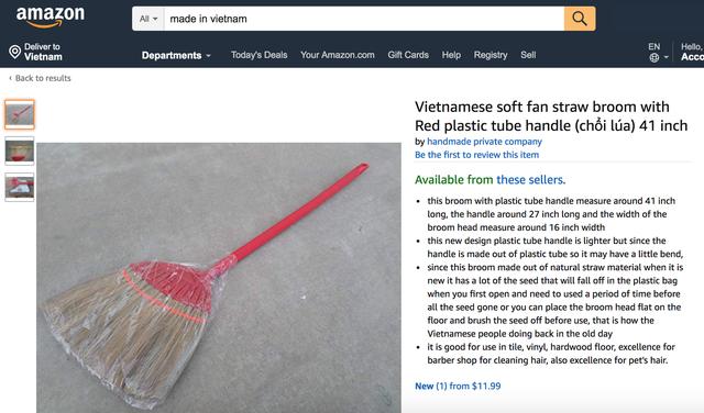 Hàng loạt sản phẩm truyền thống của Việt Nam được bán với giá cực cao trên Amazon, eBay - Ảnh 8.