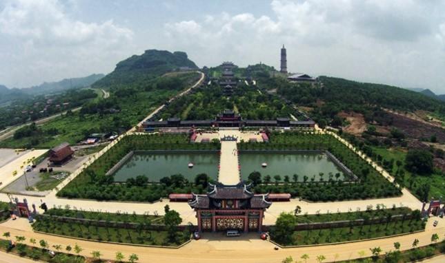 Bộ trưởng Trần Hồng Hà trả lời việc cấp hàng ngàn hecta đất xây chùa Bái Đính, Tam Chúc - Ảnh 1.