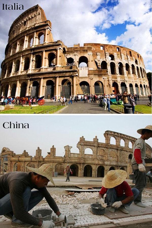 17 công trình nổi tiếng thế giới bị Trung Quốc đạo nhái không thương tiếc: Tháp Eiffel, Nhà Trắng cũng không thoát - Ảnh 14.