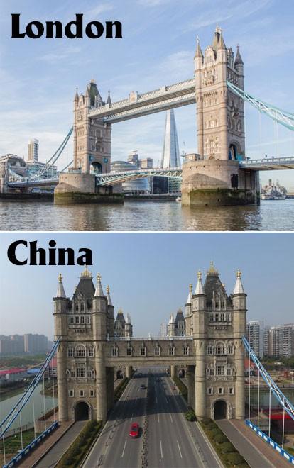 17 công trình nổi tiếng thế giới bị Trung Quốc đạo nhái không thương tiếc: Tháp Eiffel, Nhà Trắng cũng không thoát - Ảnh 5.
